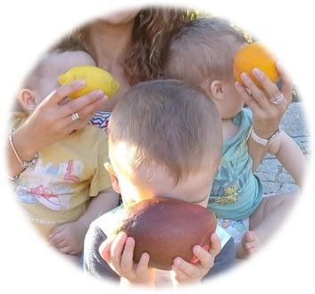 Fruta e alimentação saudável