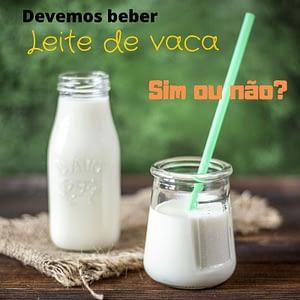 Devemos beber leite de vaca: sim ou não