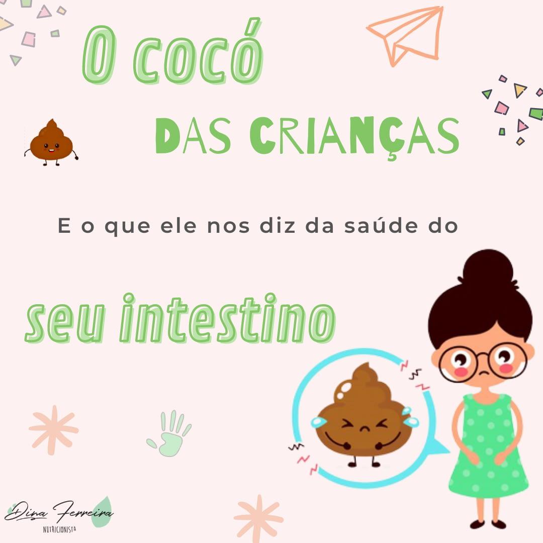 cocó das crianças e saúde intestino alergias